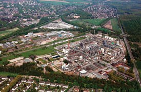 INEOS Enterprises Solvents Moers Site
