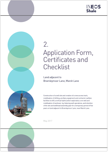 Application Form, Certificates and Checklist - PDF