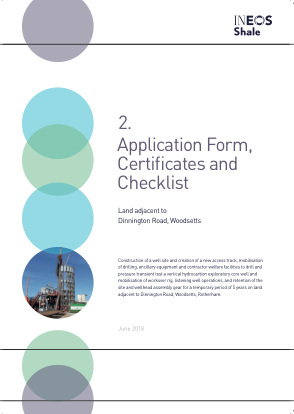 Applications Forms, Certificates and Checklist