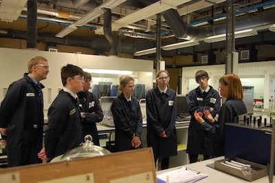 Grangemouth High in Labs (2).JPG