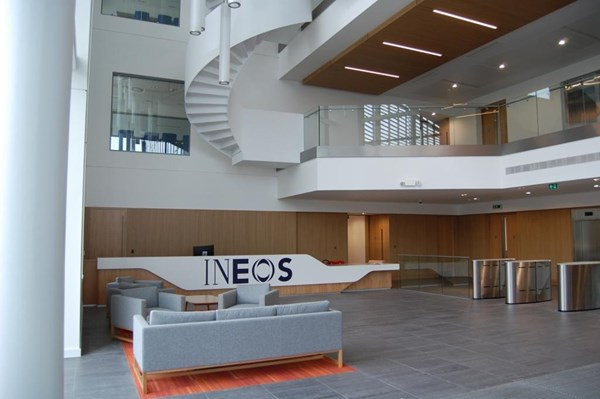 Foyer Office Vacancies : Ineos completes construction of its new grangemouth