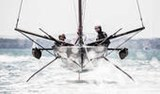 INEOS TEAM UK Team Principal and Skipper Ben Ainslie and Leigh McMillan during a T5 tow test on the Solent